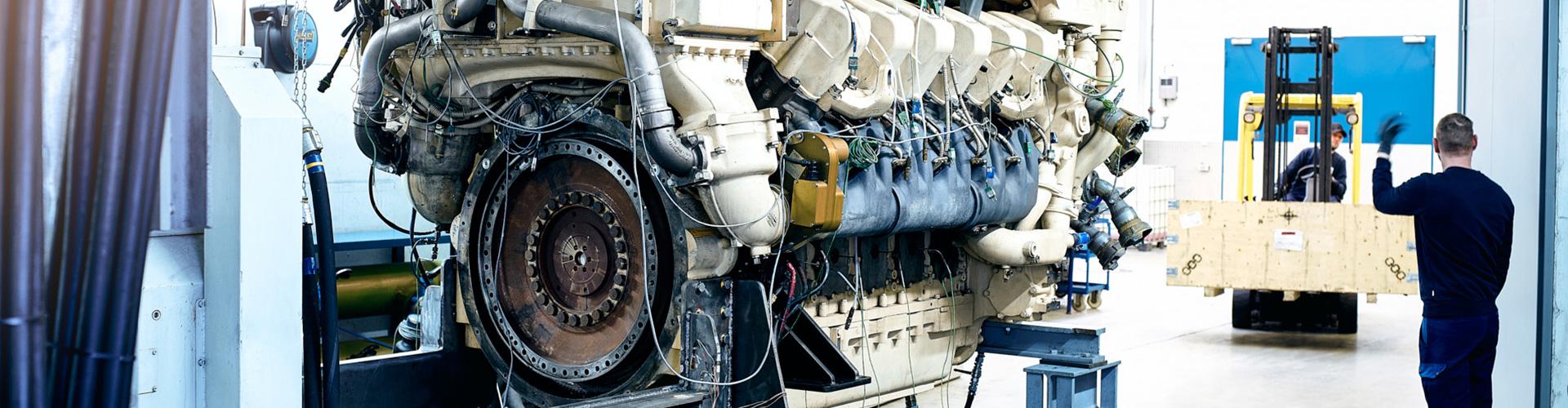 Heavy-duty engines – industry / railway / marine