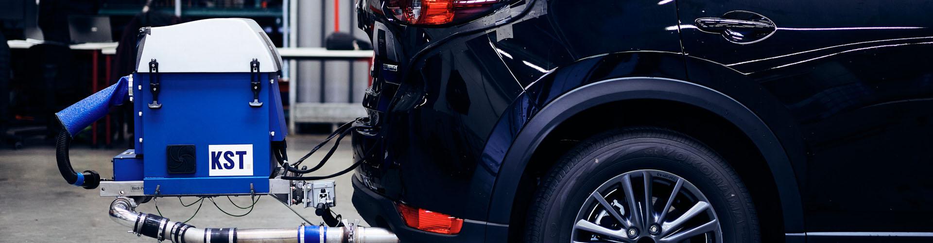 Abgas-Emission PKW