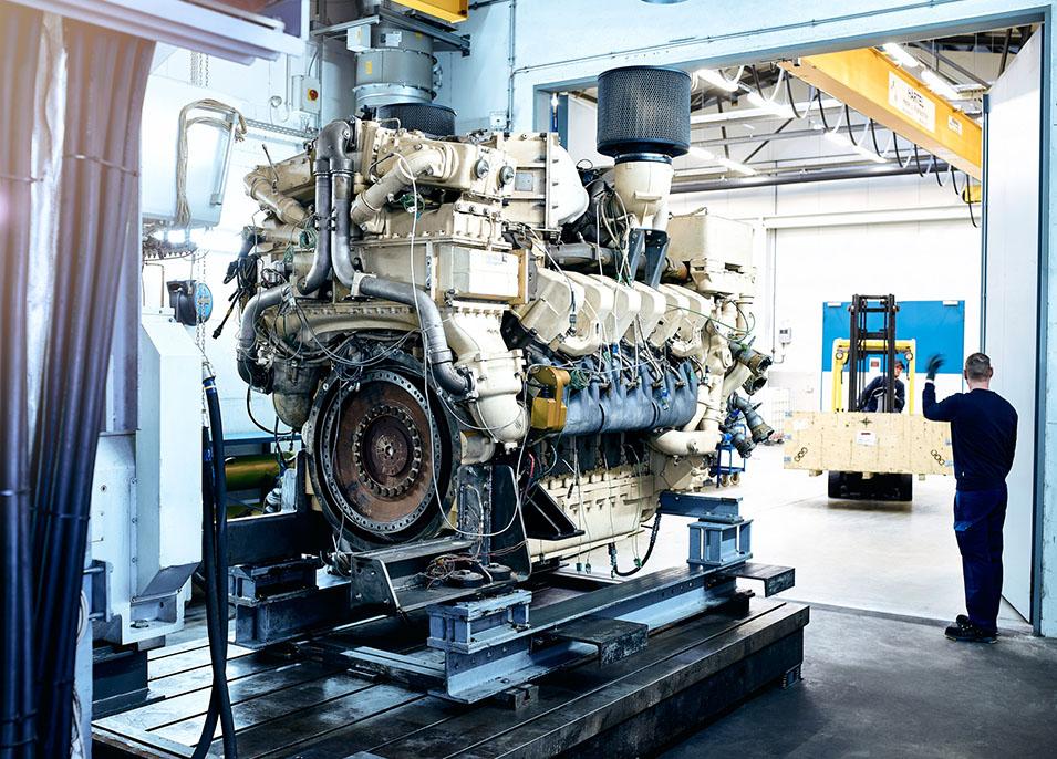 Großmotoren – Industrie / Bahn / Marine