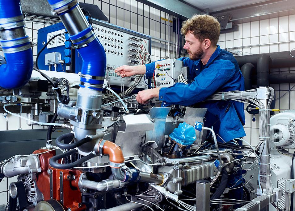 Wasserstoffbasierte Antriebe